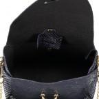 Umhängetasche Snake mit Schulterkette Dunkelblau, Farbe: schwarz, Marke: Hausfelder, EAN: 4065646001251, Abmessungen in cm: 15.0x11.0x8.0, Bild 7 von 7