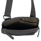 Umhängetasche Hyde Park Shoulderbag XSVZ Black, Farbe: schwarz, Marke: Strellson, EAN: 4053533807857, Abmessungen in cm: 22.0x25.0x4.0, Bild 7 von 7