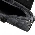 Umhängetasche Snake Grau, Farbe: grau, Marke: Hausfelder, EAN: 4065646001190, Abmessungen in cm: 22.0x14.5x8.0, Bild 7 von 7
