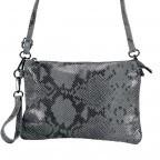 Umhängetasche / Clutch Snake Grau, Farbe: grau, Marke: Hausfelder, EAN: 4065646001732, Abmessungen in cm: 27.0x18.0x1.0, Bild 8 von 10