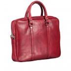 Aktentasche Rot, Farbe: rot/weinrot, Marke: Hausfelder, EAN: 4065646000438, Abmessungen in cm: 37.0x29.0x6.0, Bild 2 von 7