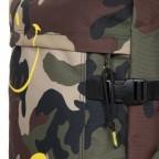 Reisetasche Tranverz S Smiley Camo, Farbe: grün/oliv, Marke: Eastpak, EAN: 5400879215546, Abmessungen in cm: 32.5x51.0x23.0, Bild 7 von 9