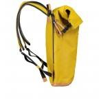 Rucksack Japan Tokio Arrowwood, Farbe: gelb, Marke: Aunts & Uncles, EAN: 4250394957350, Abmessungen in cm: 24.0x40.0x12.0, Bild 3 von 9
