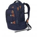 Rucksack Pack Special Edition Nordic Blue, Farbe: blau/petrol, Marke: Satch, EAN: 4057081061709, Abmessungen in cm: 30.0x45.0x22.0, Bild 8 von 11