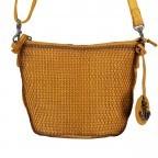 Umhängetasche Soft-Weaving Verna B3.9795 Oriental Mustard, Farbe: gelb, Marke: Harbour 2nd, EAN: 4046478044487, Abmessungen in cm: 24.0x18.0x8.0, Bild 1 von 6