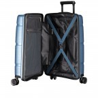 Koffer PP11 55 cm Ice Blue, Farbe: blau/petrol, Marke: Franky, EAN: 4251672738722, Abmessungen in cm: 39.5x55.0x20.0, Bild 8 von 10