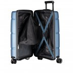 Koffer PP11 55 cm Ice Blue, Farbe: blau/petrol, Marke: Franky, EAN: 4251672738722, Abmessungen in cm: 39.5x55.0x20.0, Bild 9 von 10