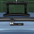 Koffer PP11 55 cm Ice Blue, Farbe: blau/petrol, Marke: Franky, EAN: 4251672738722, Abmessungen in cm: 39.5x55.0x20.0, Bild 10 von 10