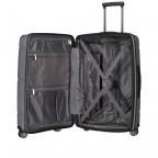 Koffer PP11 66 cm Grey Metallic, Farbe: grau, Marke: Franky, EAN: 4251672738821, Abmessungen in cm: 45.5x66.0x26.0, Bild 9 von 10