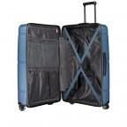 Koffer PP11 75 cm Ice Blue, Farbe: blau/petrol, Marke: Franky, EAN: 4251672738746, Abmessungen in cm: 52.0x75.0x31.0, Bild 7 von 8