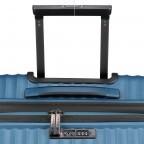 Koffer PP13 66 cm Blue Metallic, Farbe: blau/petrol, Marke: Franky, EAN: 4251672746185, Abmessungen in cm: 45.5x66.0x26.0, Bild 11 von 11