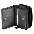 Geldbörse Alba 022 Schwarz, Farbe: schwarz, Marke: Flanigan, EAN: 4035486094249, Abmessungen in cm: 7.5x10.0x2.5, Bild 4 von 5