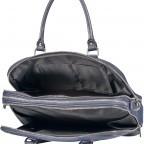 Aktentasche für Damen Schwarz, Farbe: schwarz, Marke: Hausfelder, EAN: 4065646001626, Abmessungen in cm: 36.0x28.0x13.0, Bild 8 von 11