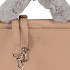 Handtasche Olivia Sand Croco Matt, Farbe: beige, Marke: Inyati, EAN: 4251289849644, Abmessungen in cm: 28.0x20.0x7.5, Bild 10 von 10