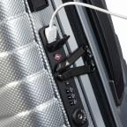 Koffer Proxis Spinner 55 Silver, Farbe: metallic, Marke: Samsonite, EAN: 5400520004314, Abmessungen in cm: 40.0x55.0x20.0, Bild 16 von 17
