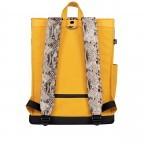 Rucksack AS02 mehrfarbig mit Laptopfach 15,6 Zoll Yellow Snake Tan, Farbe: gelb, Marke: Bold Banana, EAN: 8719874695251, Abmessungen in cm: 31.0x40.0x12.0, Bild 3 von 6