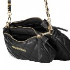 Umhängetasche Ocarina Nero, Farbe: schwarz, Marke: Valentino Bags, EAN: 8058043177045, Abmessungen in cm: 24.5x14.5x5.0, Bild 9 von 14