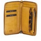 Geldbörse Just Jackie 1000037-84 Yellow, Farbe: gelb, Marke: Burkely, EAN: 8717128035532, Abmessungen in cm: 15.0x9.5x2.0, Bild 4 von 4