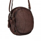 Umhängetasche Soft-Weaving Elisabeth B3.9794 Chocolate Brown, Farbe: braun, Marke: Harbour 2nd, EAN: 4046478047891, Bild 2 von 6