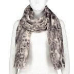 Schal Snake Grau, Farbe: grau, Marke: Hausfelder, EAN: 4065646004207, Bild 1 von 2