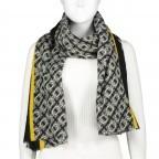 Schal Schwarz, Farbe: schwarz, Marke: Hausfelder, EAN: 4065646004214, Bild 1 von 2