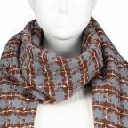 Schal Ethno Grau, Farbe: grau, Marke: Hausfelder, EAN: 4065646004320, Bild 2 von 2