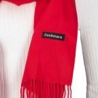 Schal mit Kaschmir Rot, Farbe: rot/weinrot, Marke: Hausfelder, EAN: 4065646005280, Bild 2 von 2