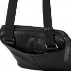 Umhängetasche Hyde Park Shoulderbag XSVZ2 Black, Farbe: schwarz, Marke: Strellson, EAN: 4053533861019, Abmessungen in cm: 22.0x22.0x4.0, Bild 7 von 7