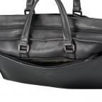 Aktentasche Bakerloo Briefbag SHZ Black, Farbe: schwarz, Marke: Strellson, EAN: 4053533851515, Abmessungen in cm: 39.0x28.0x8.0, Bild 9 von 10