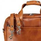 Hausfelder Aktentasche I-NAN-4575-M Miele, Farbe: cognac, Marke: Hausfelder, EAN: 4065646004818, Abmessungen in cm: 39.0x32.0x10.0, Bild 8 von 8