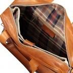 Hausfelder Aktentasche I-NAN-4575-M Miele, Farbe: cognac, Marke: Hausfelder, EAN: 4065646004818, Abmessungen in cm: 39.0x32.0x10.0, Bild 7 von 8