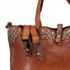 Handtasche 0290-X038 Leder Cognac, Farbe: cognac, Marke: Campomaggi, EAN: 8054302014809, Bild 8 von 8