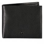Geldbörse Cardona Ninos H10 Black, Farbe: schwarz, Marke: Joop!, EAN: 4053533568949, Abmessungen in cm: 12.0x9.5x2.0, Bild 1 von 3
