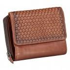 Geldbörse Soft-Weaving Lou B3.2090 Charming Cognac, Farbe: cognac, Marke: Harbour 2nd, EAN: 4046478050464, Abmessungen in cm: 13.5x10.5x3.0, Bild 2 von 6