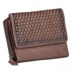 Geldbörse Soft-Weaving Lou B3.2090 Chocolate Brown, Farbe: braun, Marke: Harbour 2nd, EAN: 4046478050471, Abmessungen in cm: 13.5x10.5x3.0, Bild 2 von 6