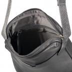 Umhängetasche Bondstreet Shoulderbag XSVZ Black, Farbe: schwarz, Marke: Strellson, EAN: 4053533902958, Abmessungen in cm: 21.0x25.0x3.5, Bild 6 von 6