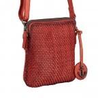 Umhängetasche Soft-Weaving Thelma B3.9786 Sparkling Lava, Farbe: orange, Marke: Harbour 2nd, EAN: 4046478050365, Abmessungen in cm: 19.5x20.0x3.0, Bild 2 von 6