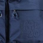 Umhängetasche MD20 QMTX5 Dress Blue, Farbe: blau/petrol, Marke: Mandarina Duck, EAN: 8032803657329, Abmessungen in cm: 28.0x19.0x11.0, Bild 7 von 7