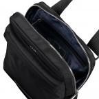 Umhängetasche Cimiano Florian SVZ Black, Farbe: schwarz, Marke: Joop!, EAN: 4053533913534, Abmessungen in cm: 22.0x24.0x7.0, Bild 6 von 6