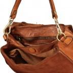 Satteltasche mit Overlock Cognac, Farbe: cognac, Marke: Campomaggi, EAN: 8054302708982, Abmessungen in cm: 26.0x24.0x9.0, Bild 8 von 9
