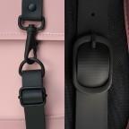 Rucksack Backpack Mini Blush, Farbe: rosa/pink, Marke: Rains, EAN: 5711747469627, Abmessungen in cm: 27.0x39.0x8.0, Bild 5 von 5