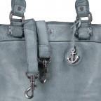 Shopper Anchor-Love Bianca B3.5938 New Denim, Farbe: blau/petrol, Marke: Harbour 2nd, EAN: 4046478051928, Abmessungen in cm: 36.0x27.0x12.5, Bild 8 von 8