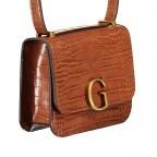Umhängetasche Corily Cognac, Farbe: cognac, Marke: Guess, EAN: 0190231456865, Abmessungen in cm: 19.0x16.0x7.0, Bild 2 von 7