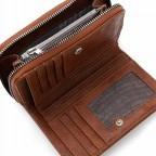 Geldbörse Franzy 12861 Cognac, Farbe: cognac, Marke: Suri Frey, EAN: 4056185139222, Abmessungen in cm: 15.0x10.5x3.0, Bild 4 von 5