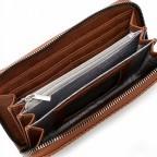 Geldbörse Franzy 12862 Cognac, Farbe: cognac, Marke: Suri Frey, EAN: 4056185139284, Abmessungen in cm: 19.0x10.5x3.0, Bild 4 von 5