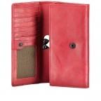 Geldbörse Grandma's Luxury Club Stella mit Bügelverschluss Crimson Red, Farbe: rot/weinrot, Marke: Aunts & Uncles, EAN: 4250394967014, Abmessungen in cm: 19.0x10.0x3.0, Bild 4 von 5