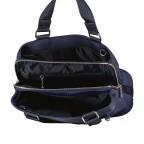 Handtasche Verbier Play Lois Dark Blue, Farbe: blau/petrol, Marke: Bogner, EAN: 4053533931439, Abmessungen in cm: 28.5x20.0x12.0, Bild 7 von 7