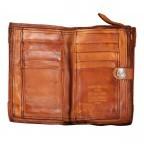 Geldbörse 7530-X0074 Cognac, Farbe: cognac, Marke: Campomaggi, EAN: 8054302033046, Abmessungen in cm: 15.0x10.0x2.5, Bild 3 von 3
