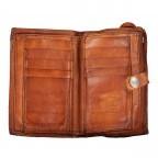 Geldbörse Bella Di Notte 2470-X0038 Cognac, Farbe: cognac, Marke: Campomaggi, EAN: 8054302043564, Abmessungen in cm: 15.5x10.0x3.0, Bild 4 von 5