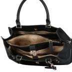 Handtasche Albury Black, Farbe: schwarz, Marke: Guess, EAN: 0190231486022, Abmessungen in cm: 29.0x21.0x10.0, Bild 7 von 8
